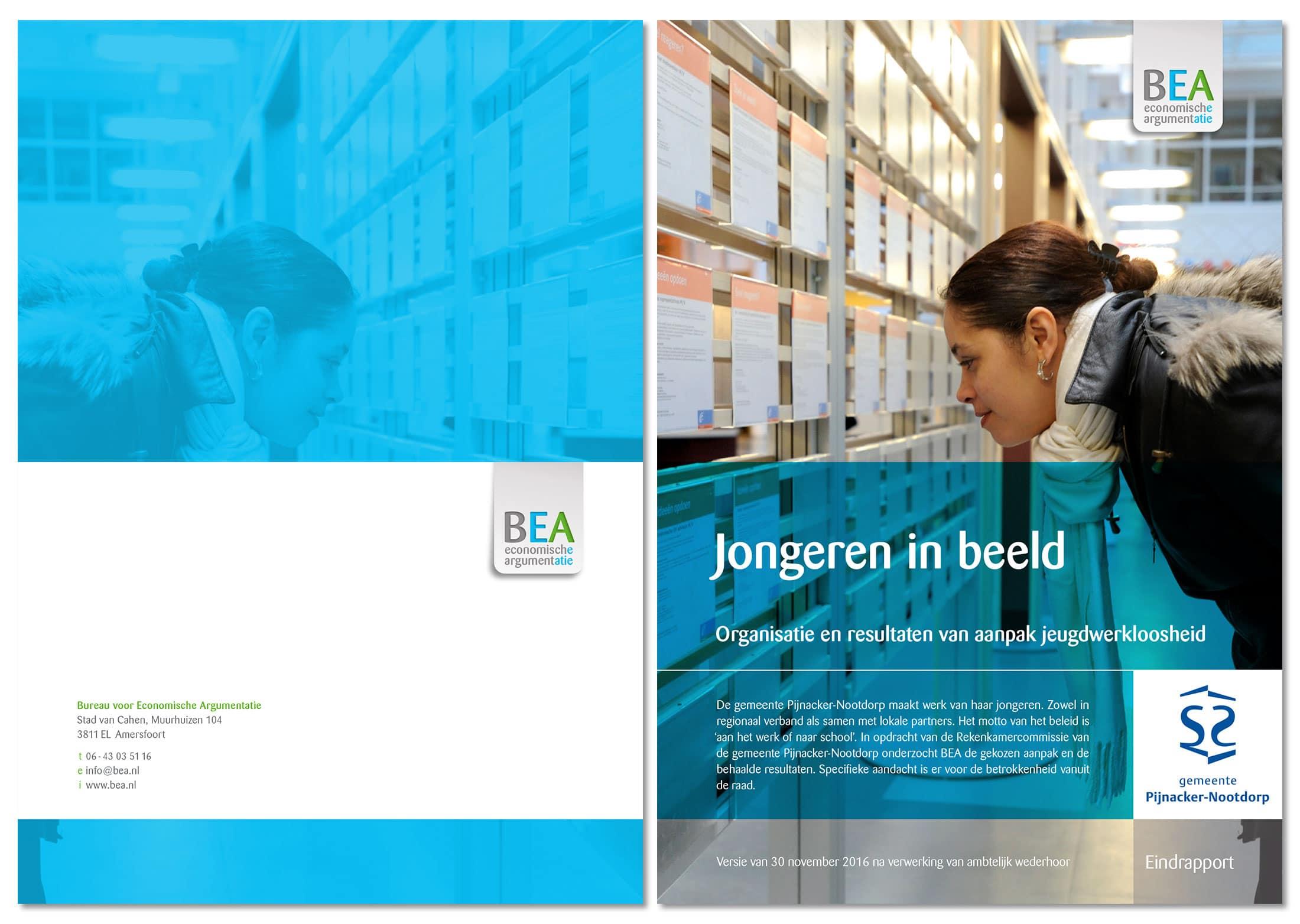 bea rapport uitgelicht | BEA heeft unieke rapportomslagen in een handomdraai