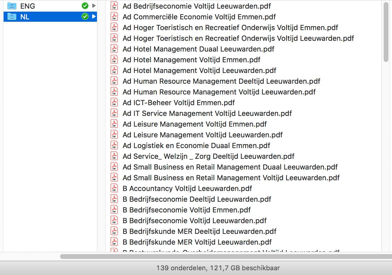 pdf output met automatische naamgeving