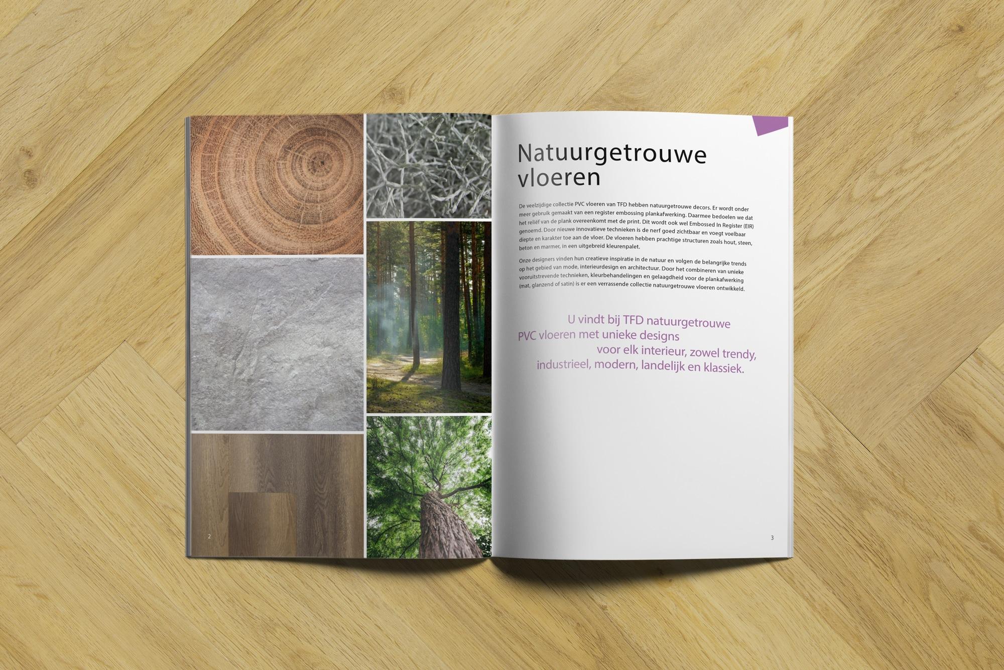 brochure TFD 2 3   TFD Floortile Productbrochure PVC vloeren