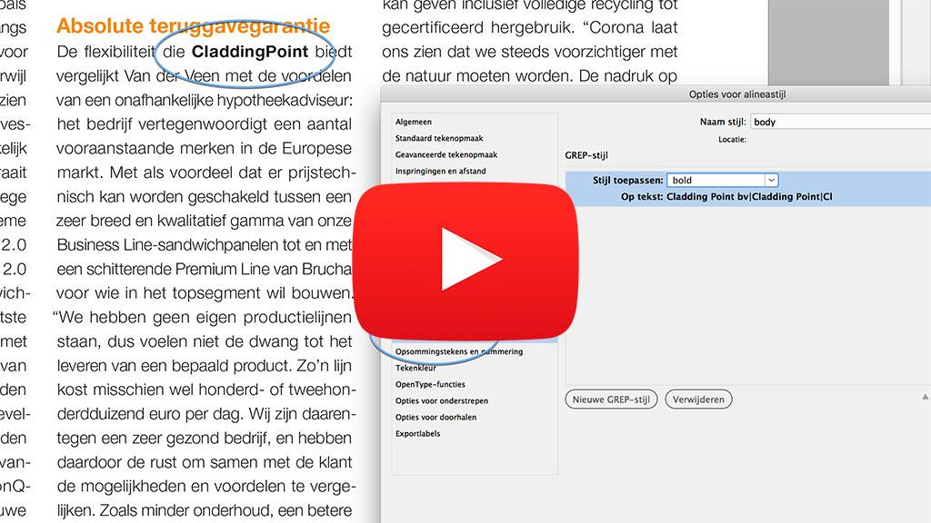 Je eerste GREP stijl video L   Je eerste GREP-stijl - zonder codes!