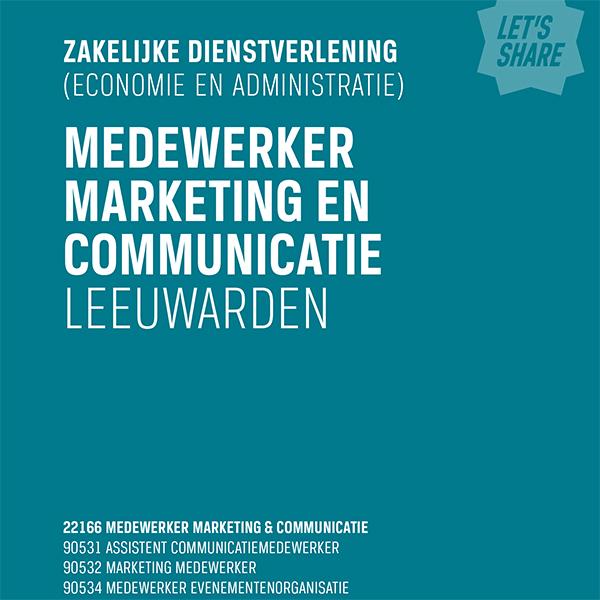ROC Friese Poort brochure omslag